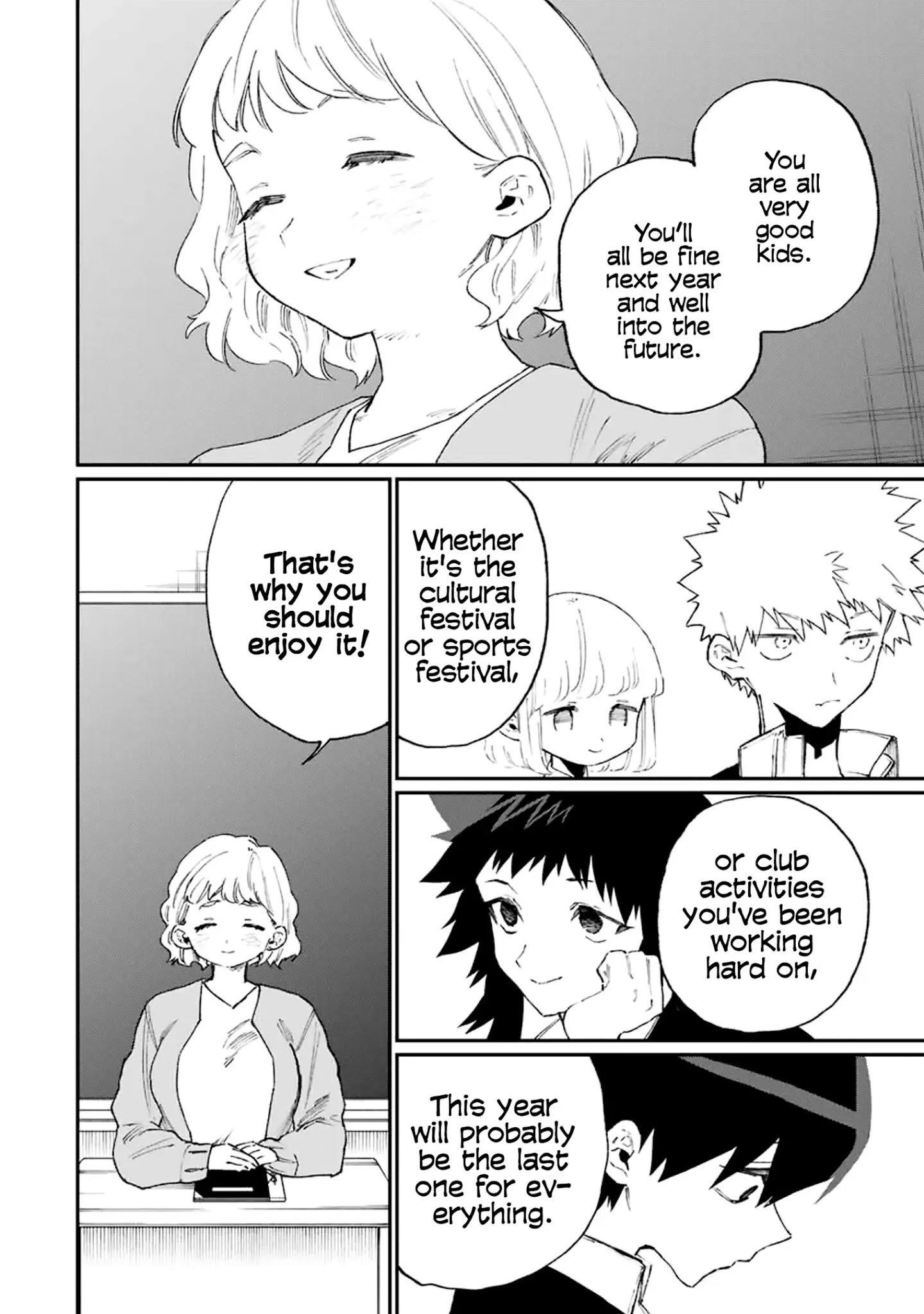 Shikimori's Not Just A Cutie Chapter 115 page 3 - Mangakakalots.com