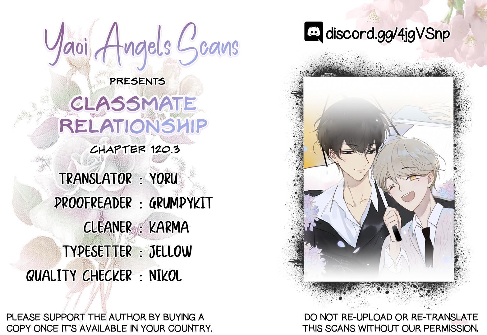 Classmate Relationship? Chapter 120.3 page 1 - Mangakakalots.com