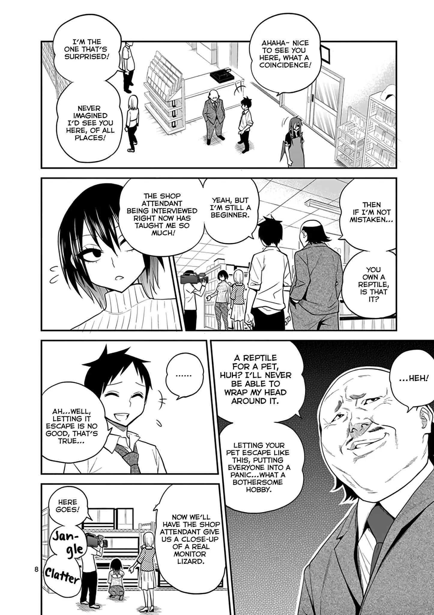 Secret Reptiles Chapter 16 page 8 - Mangakakalots.com