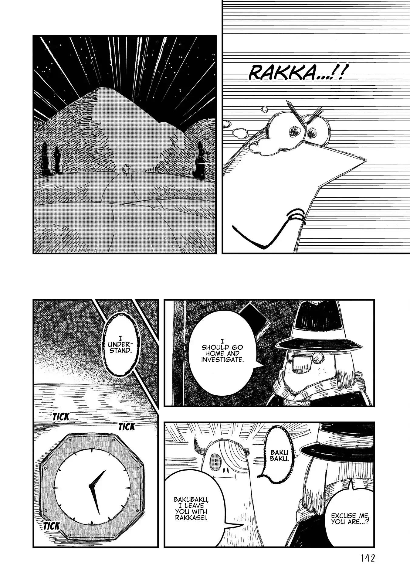 Rojica To Rakkasei Chapter 6: Bakubaku The Monster page 24 - Mangakakalots.com