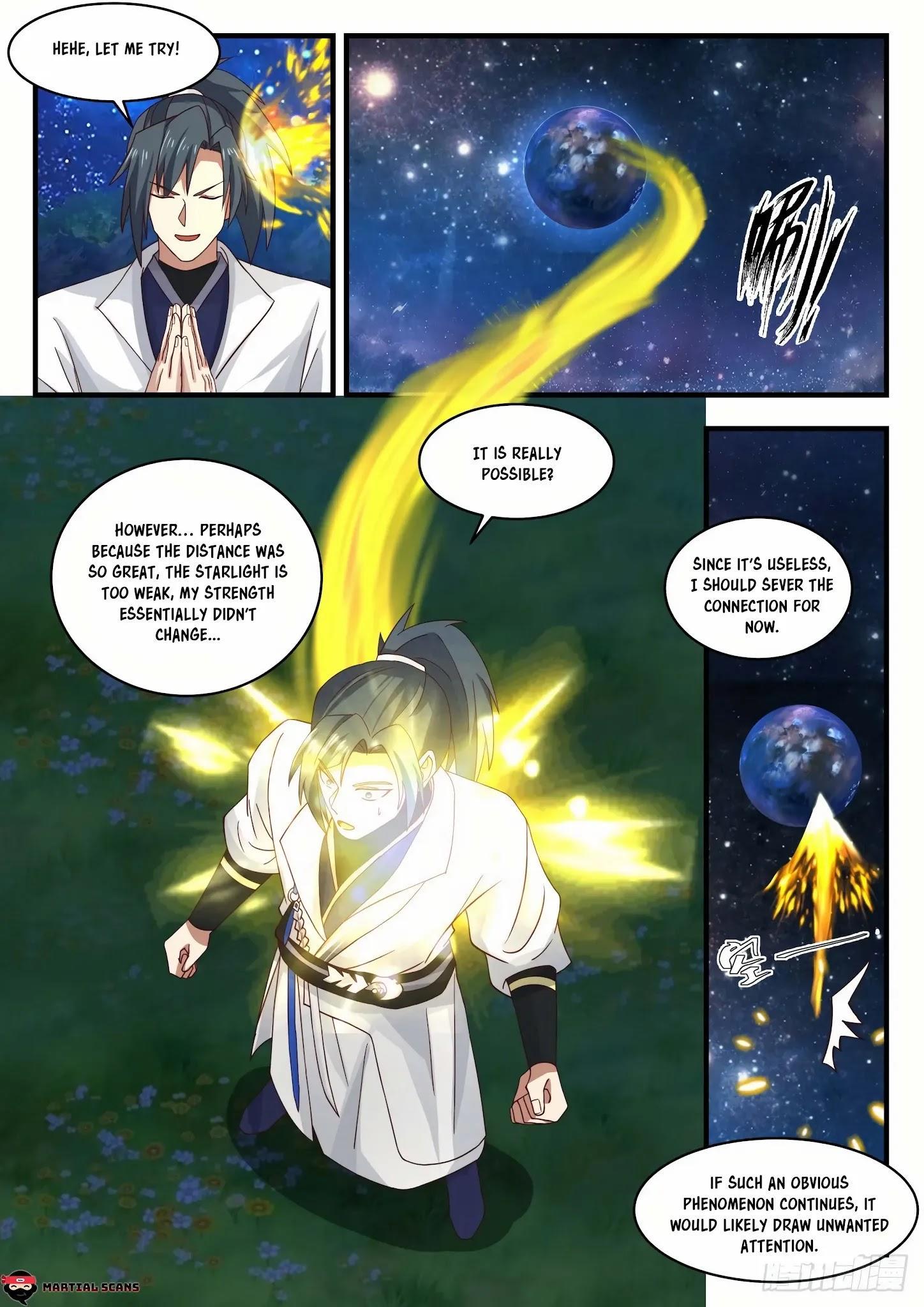 Martial Peak Chapter 1555: Arrived At The Star Boundary page 12 - Mangakakalots.com