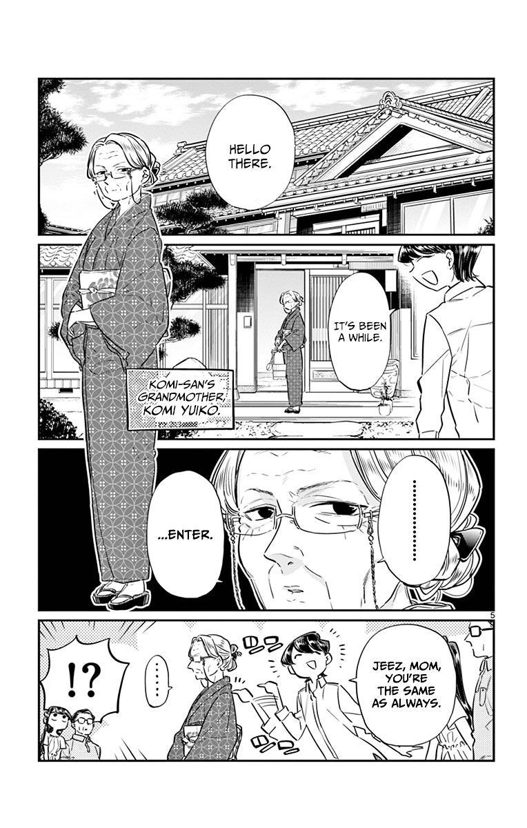 Komi-San Wa Komyushou Desu Vol.3 Chapter 45: Obon Festival page 5 - Mangakakalot