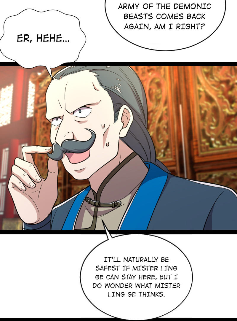 The Martial Emperor's Life After Seclusion Chapter 50: Stay, Accommodate, And A Comeback page 33 - Mangakakalots.com