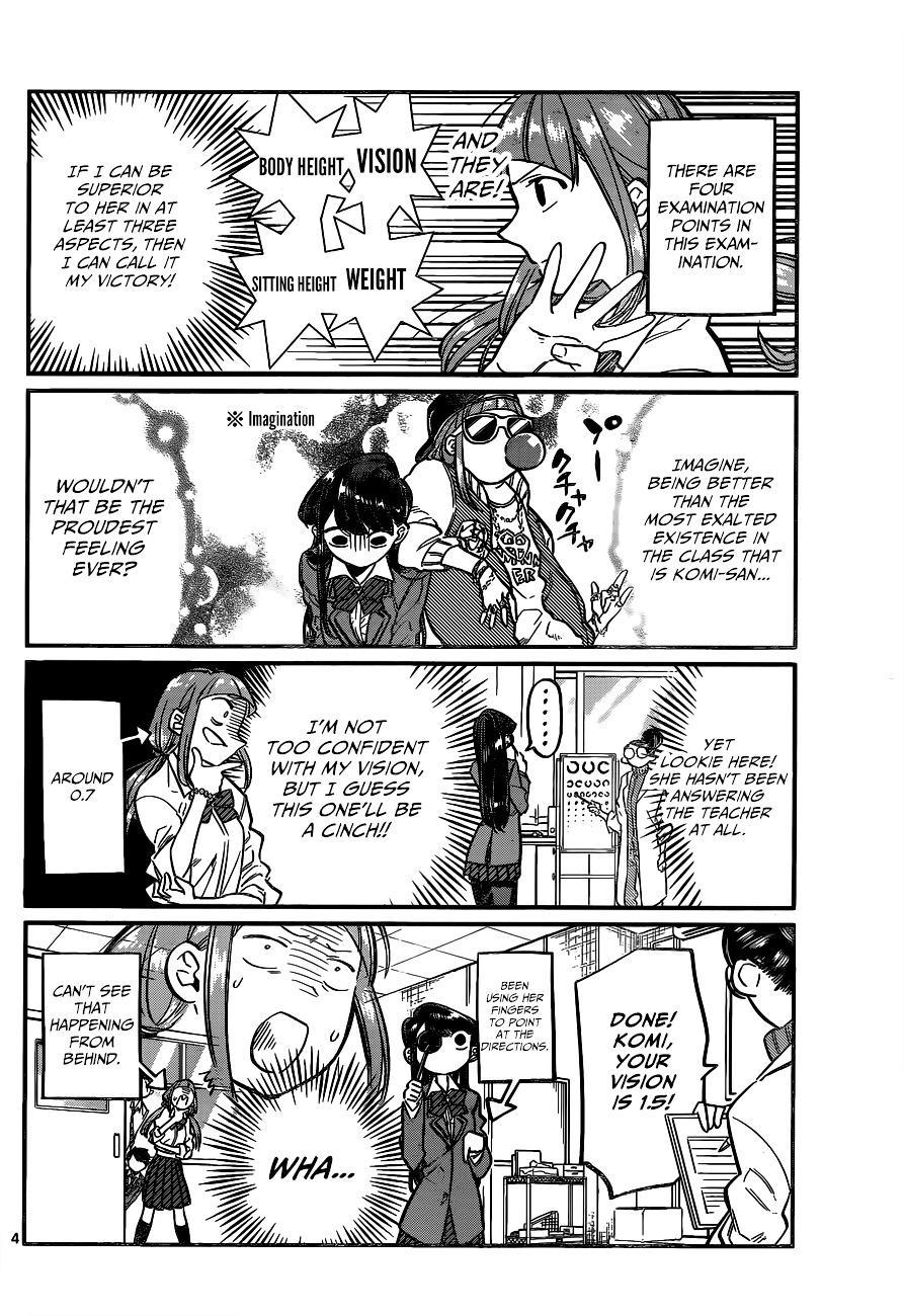 Komi-San Wa Komyushou Desu Vol.2 Chapter 20: Physical Examination page 5 - Mangakakalot