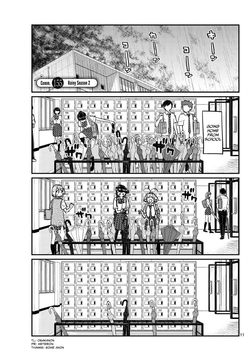 Komi-San Wa Komyushou Desu Vol.11 Chapter 155: Rainy Season 2 page 1 - Mangakakalot