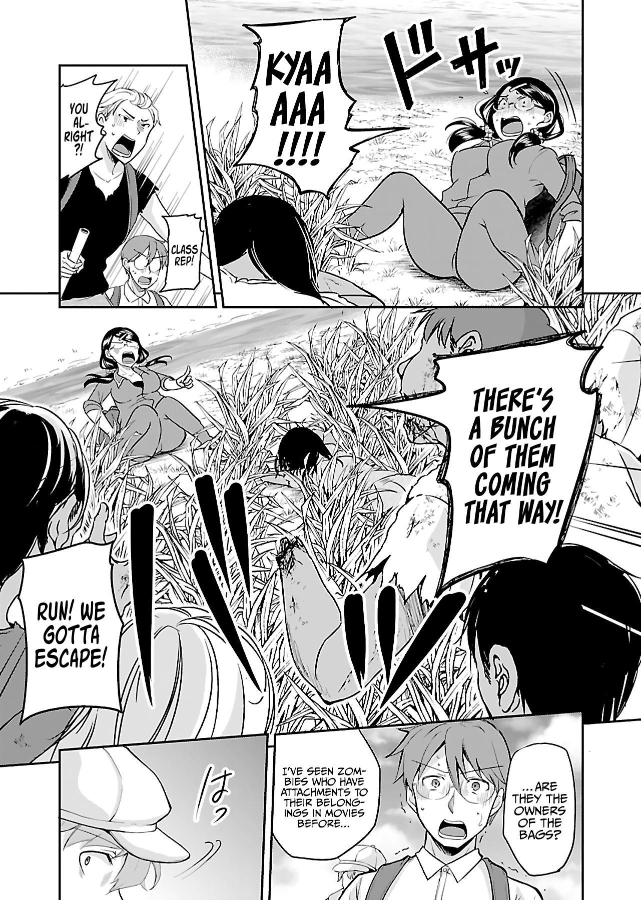Zombie Darake No Kono Sekai De Wa Sex Shinai To Ikinokorenai Chapter 10: Zombie 10 page 10 - Mangakakalots.com