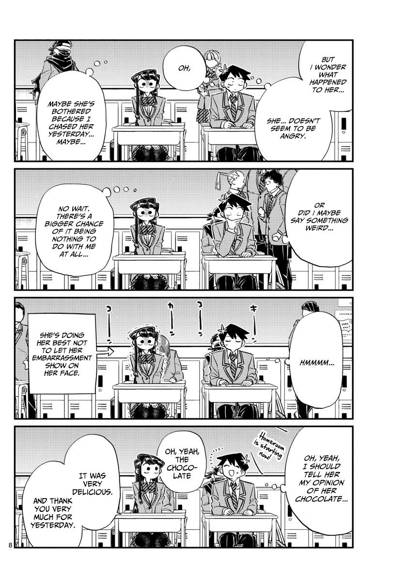 Komi-San Wa Komyushou Desu Vol.9 Chapter 119: After Valentine's page 8 - Mangakakalot
