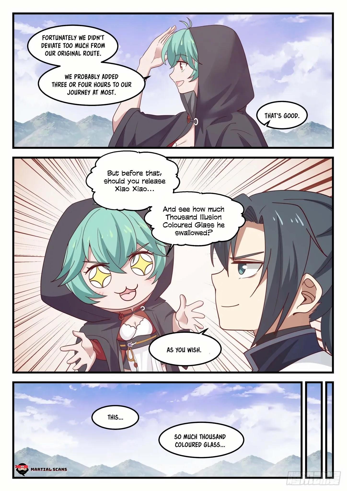 Martial Peak Chapter 1190: Who Is Su Yan? page 8 - Mangakakalots.com