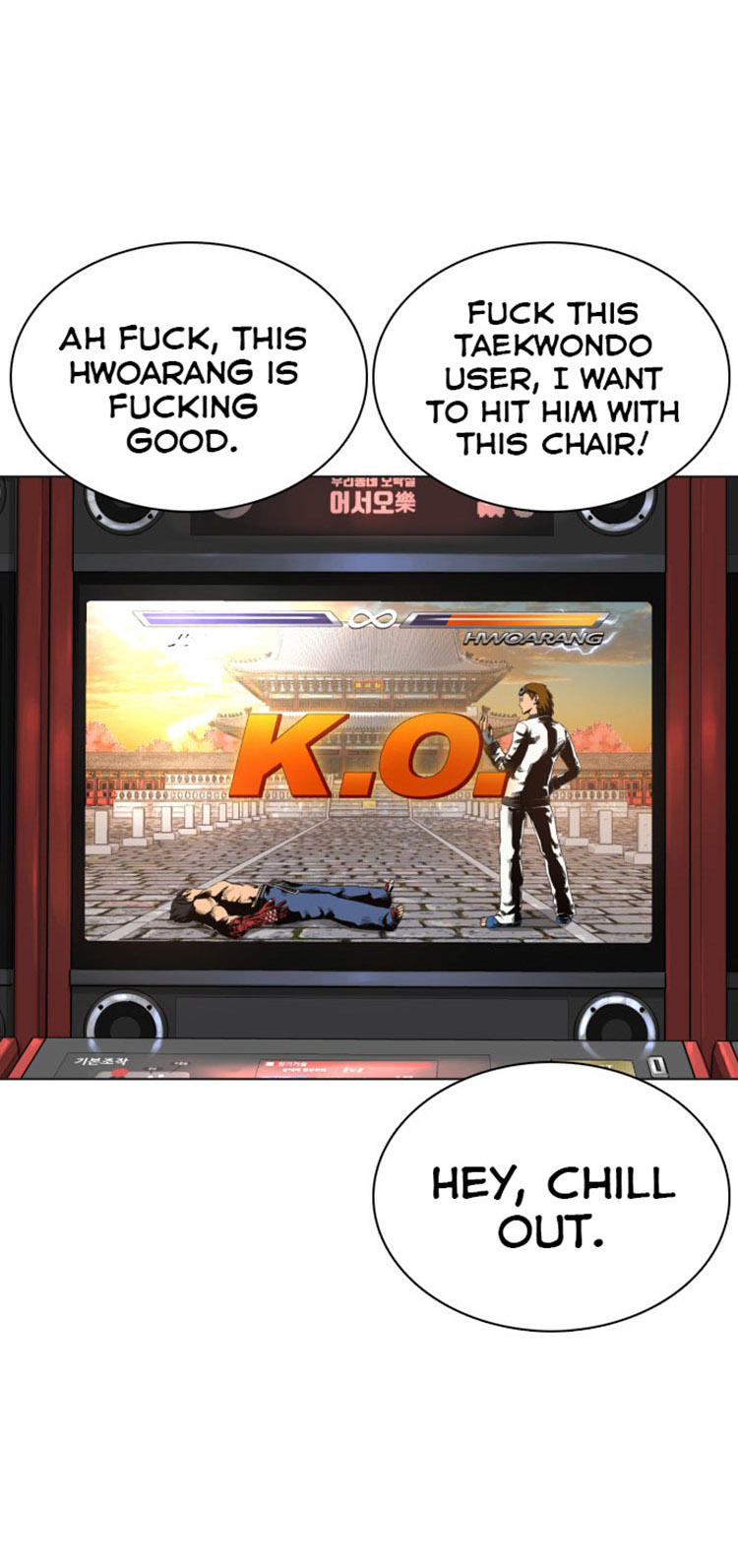 How To Fight Chapter 15: Taekwondo's Not A Big Deal page 59 - Mangakakalots.com