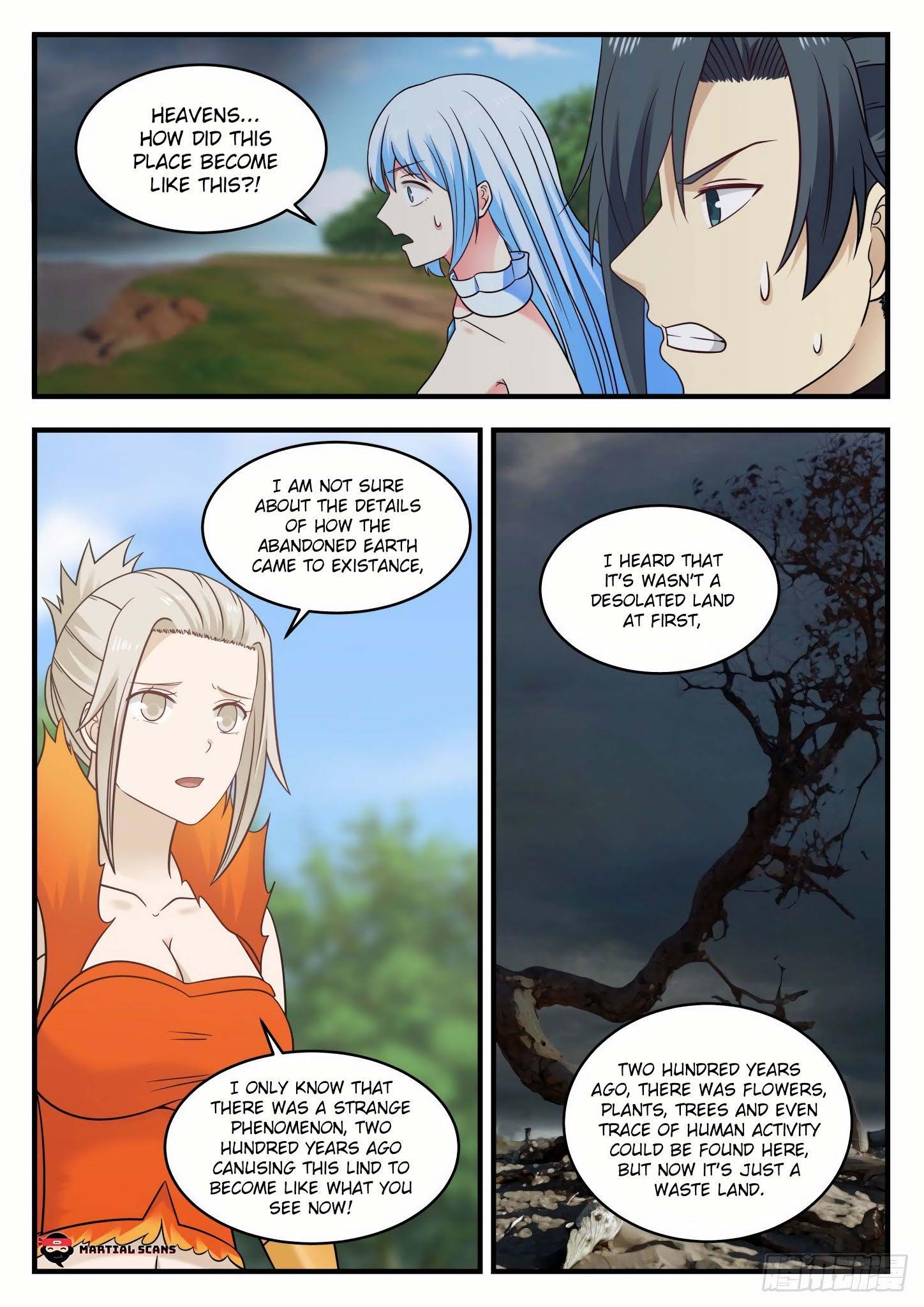 Martial Peak Chapter 583 - Abandoned Earth page 11 - Mangakakalots.com