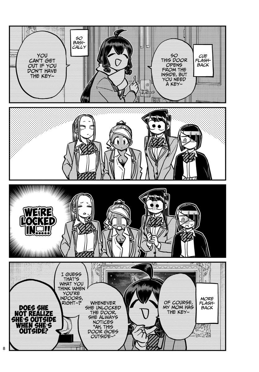 Komi-San Wa Komyushou Desu Chapter 241: Escape page 11 - Mangakakalot