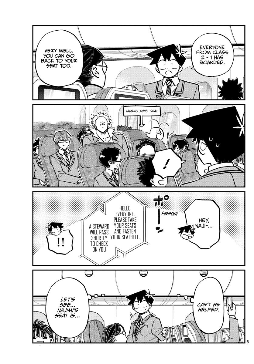 Komi-San Wa Komyushou Desu Chapter 278: Boarding page 8 - Mangakakalot