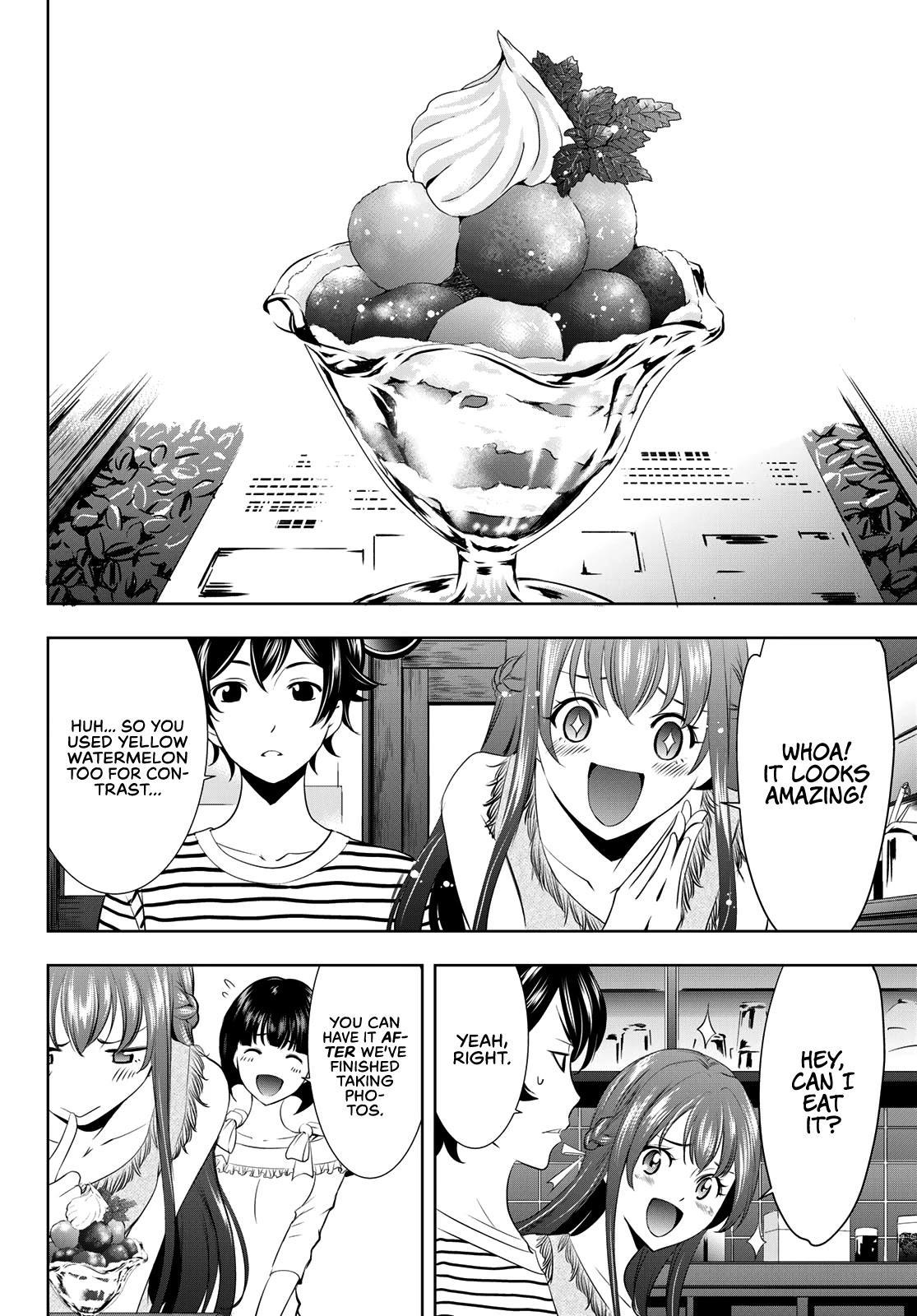 Goddess Café Terrace Chapter 21: The Start Of Summer page 7 - Mangakakalots.com