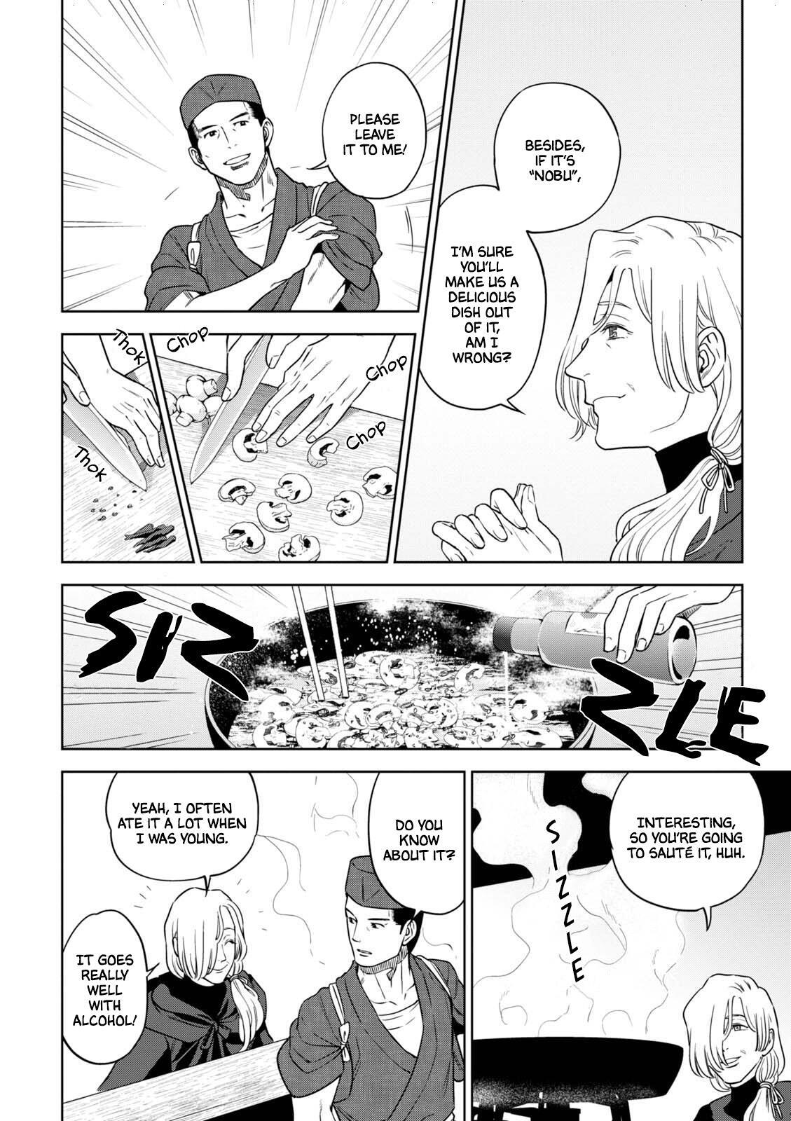 Isekai Izakaya Vol.6 Chapter 35: Mushroom Ajillo page 17 - Mangakakalots.com