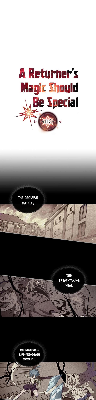 A Returner's Magic Should Be Special Chapter 113 page 2 - Mangakakalots.com