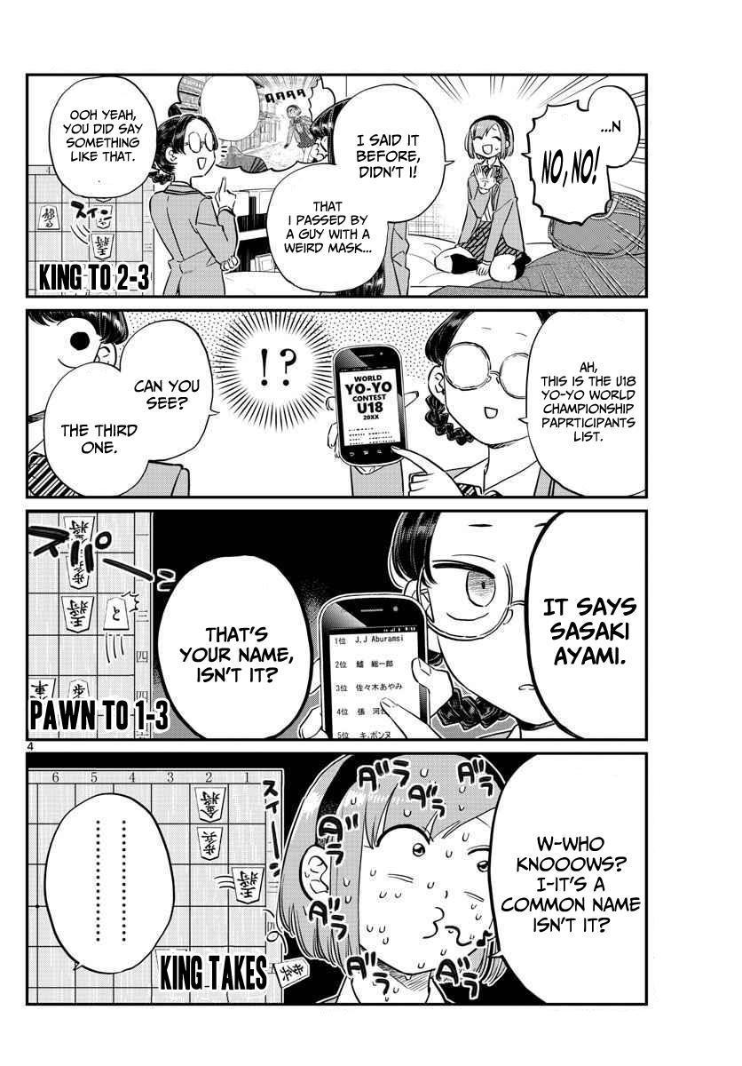 Komi-San Wa Komyushou Desu Vol.8 Chapter 111: Yo-Yo Hannya page 4 - Mangakakalot