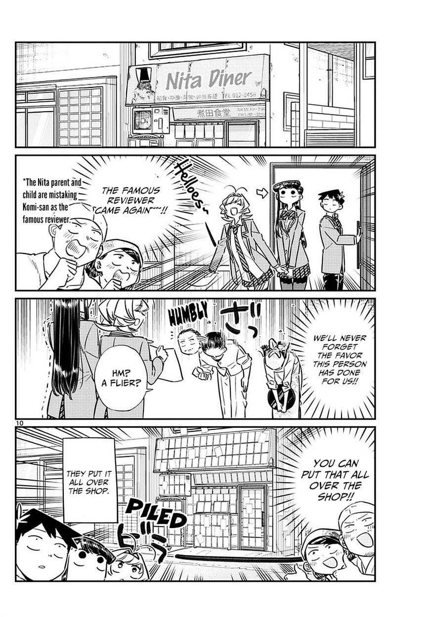 Komi-San Wa Komyushou Desu Vol.5 Chapter 65: Flier Distribution page 10 - Mangakakalot