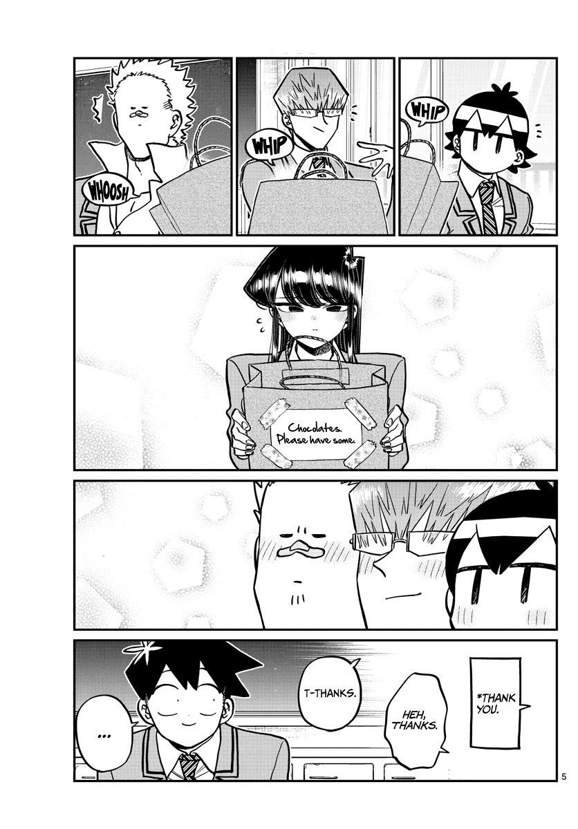 Komi-San Wa Komyushou Desu Chapter 299: Valentine's Day, Second Year Edition page 5 - Mangakakalot