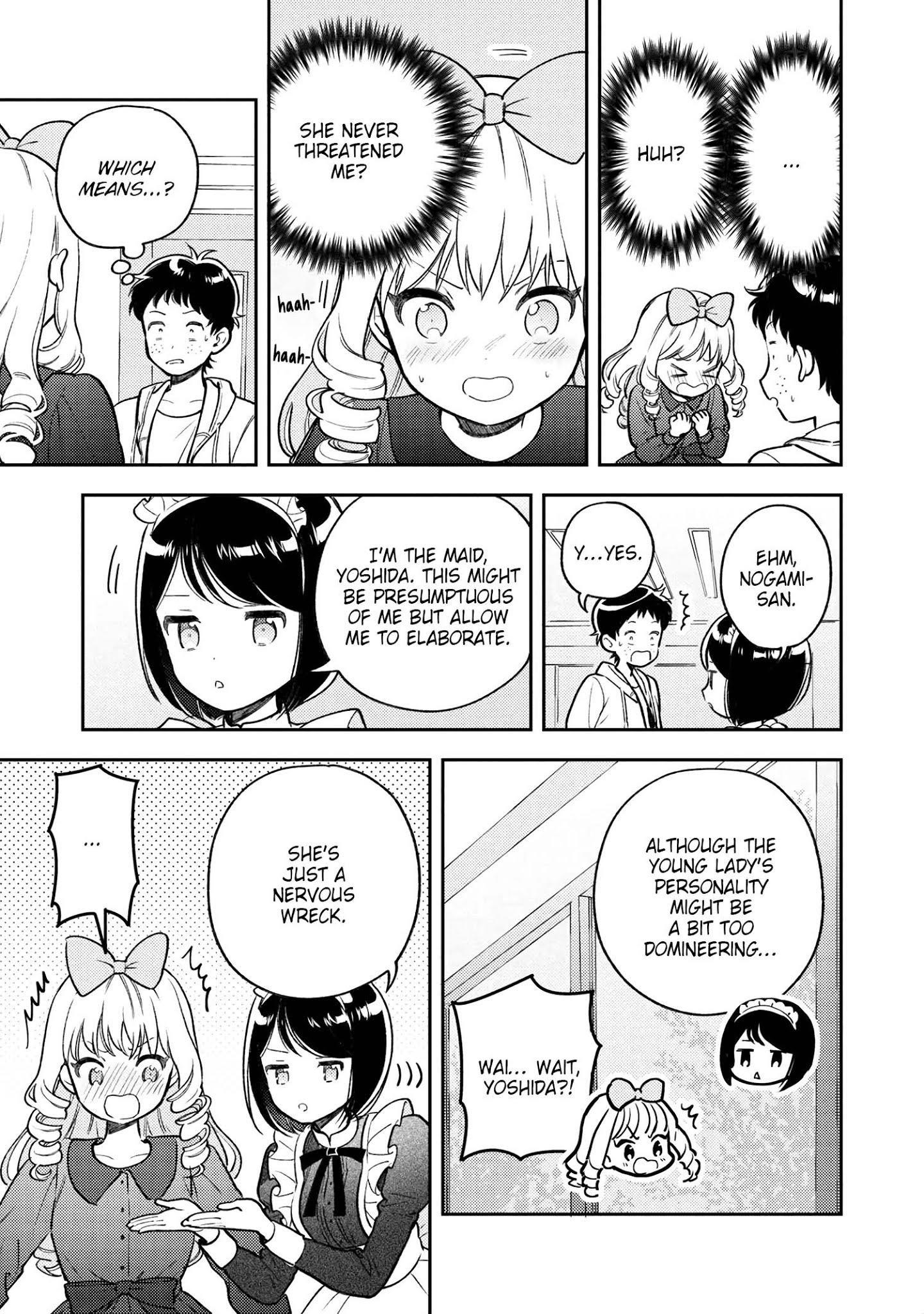 Houjou Urara No Renai Shousetsu O Kaki Nasai! Chapter 7 page 29 - Mangakakalots.com