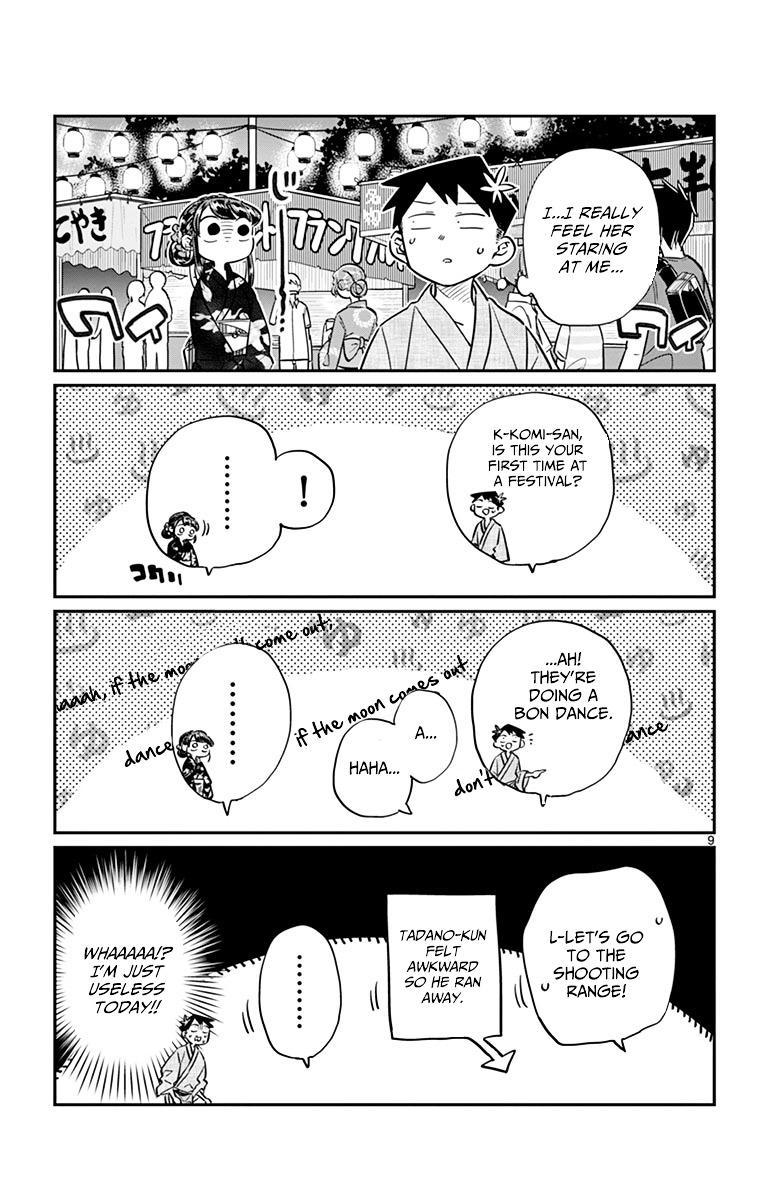 Komi-San Wa Komyushou Desu Vol.3 Chapter 46: Summer Festival page 9 - Mangakakalot