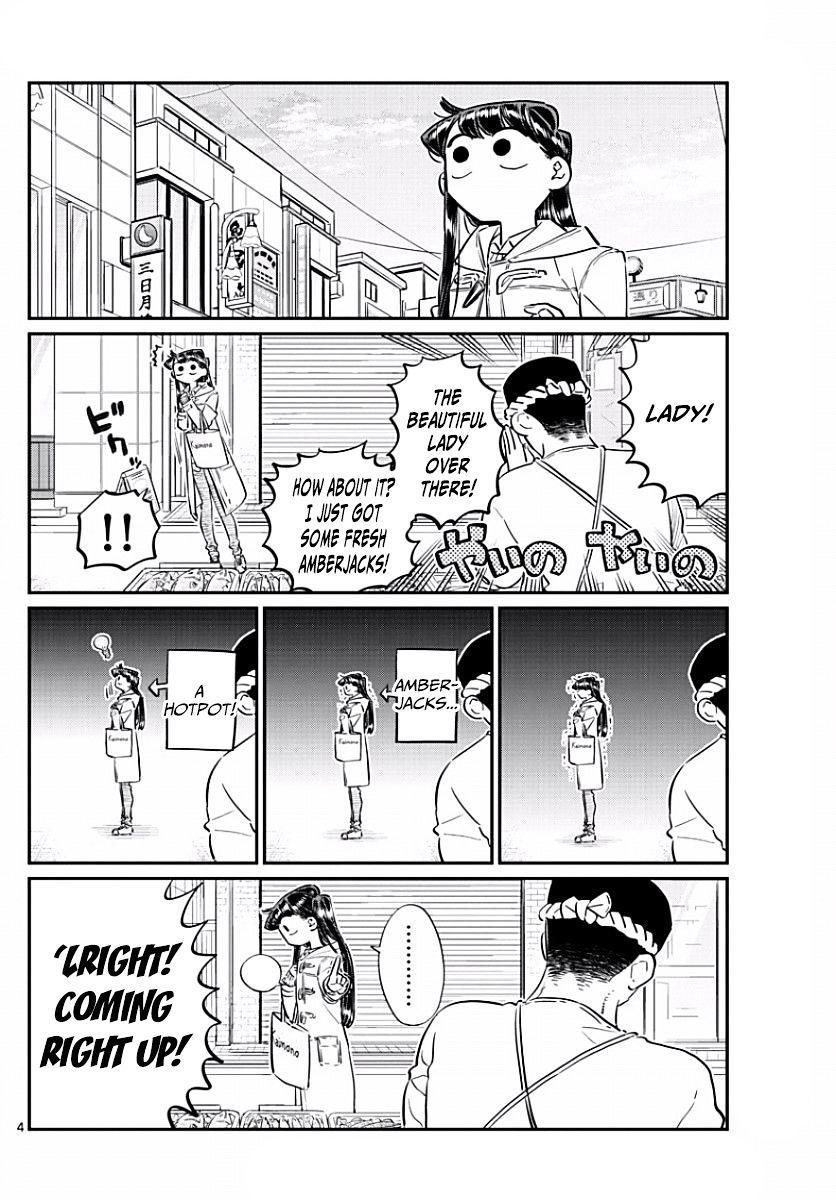 Komi-San Wa Komyushou Desu Vol.7 Chapter 96: Shopping For Dinner page 4 - Mangakakalot