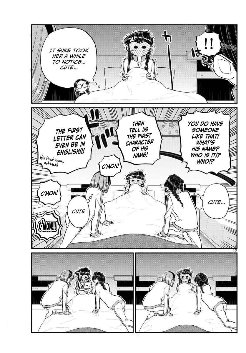Komi-San Wa Komyushou Desu Vol.8 Chapter 112: Second Night page 5 - Mangakakalot