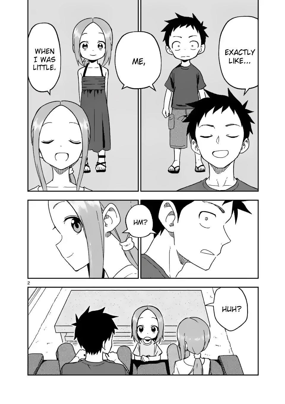 Karakai Jouzu No (Moto) Takagi-San Chapter 193 page 2 - Mangakakalots.com