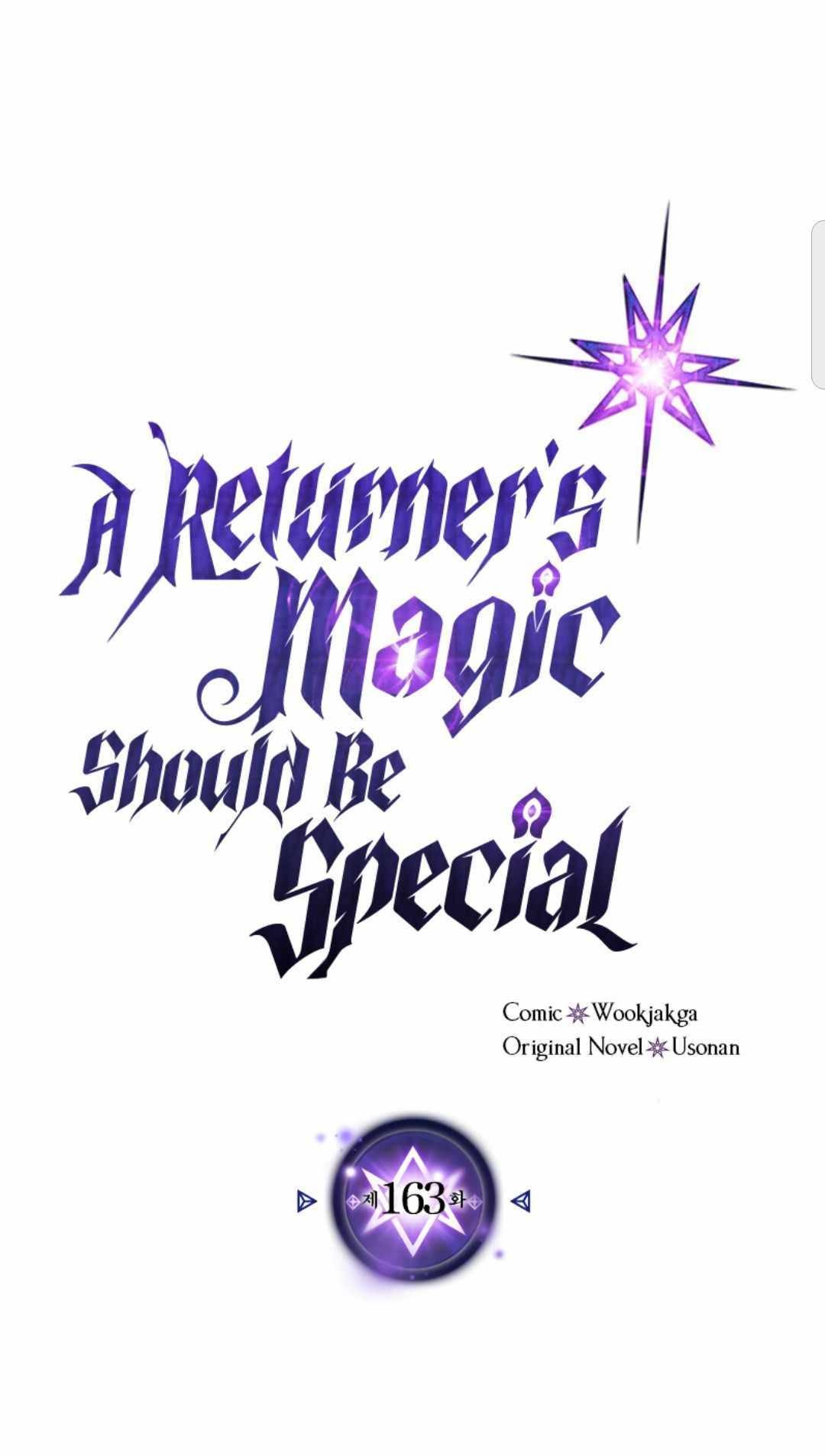 A Returner's Magic Should Be Special Chapter 163 page 1 - Mangakakalot