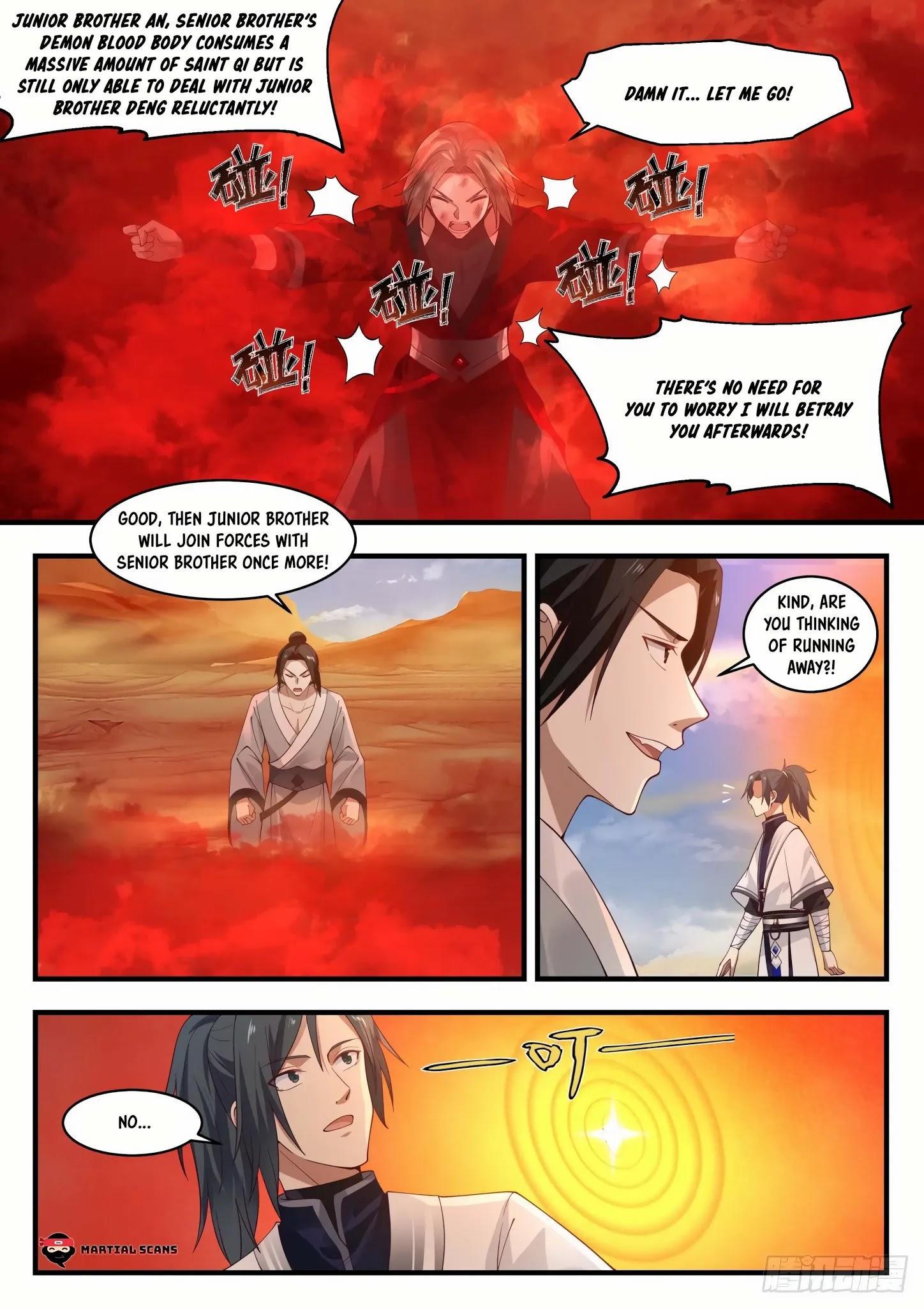 Martial Peak Chapter 1152: Blood Fusion Pill page 12 - Mangakakalots.com
