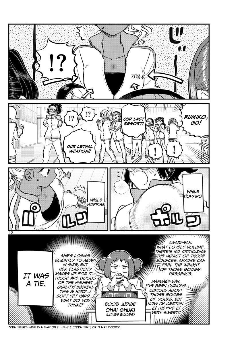 Komi-San Wa Komyushou Desu Vol.10 Chapter 137: Physical Examination 2 page 12 - Mangakakalot