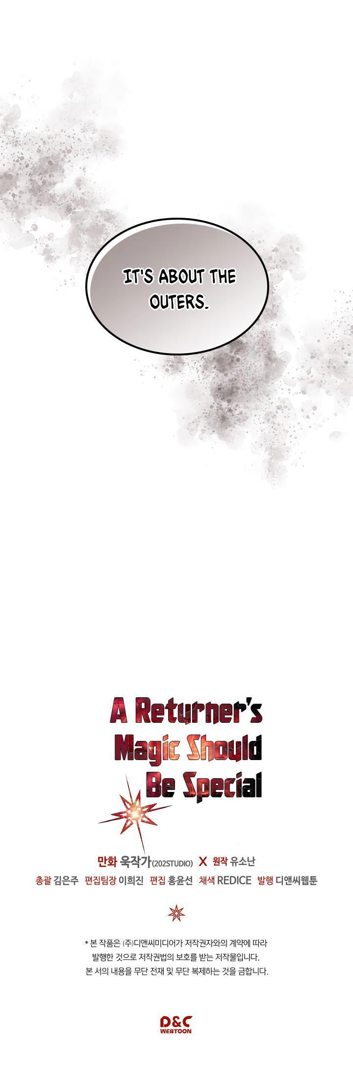 A Returner's Magic Should Be Special Chapter 99 page 38 - Mangakakalots.com