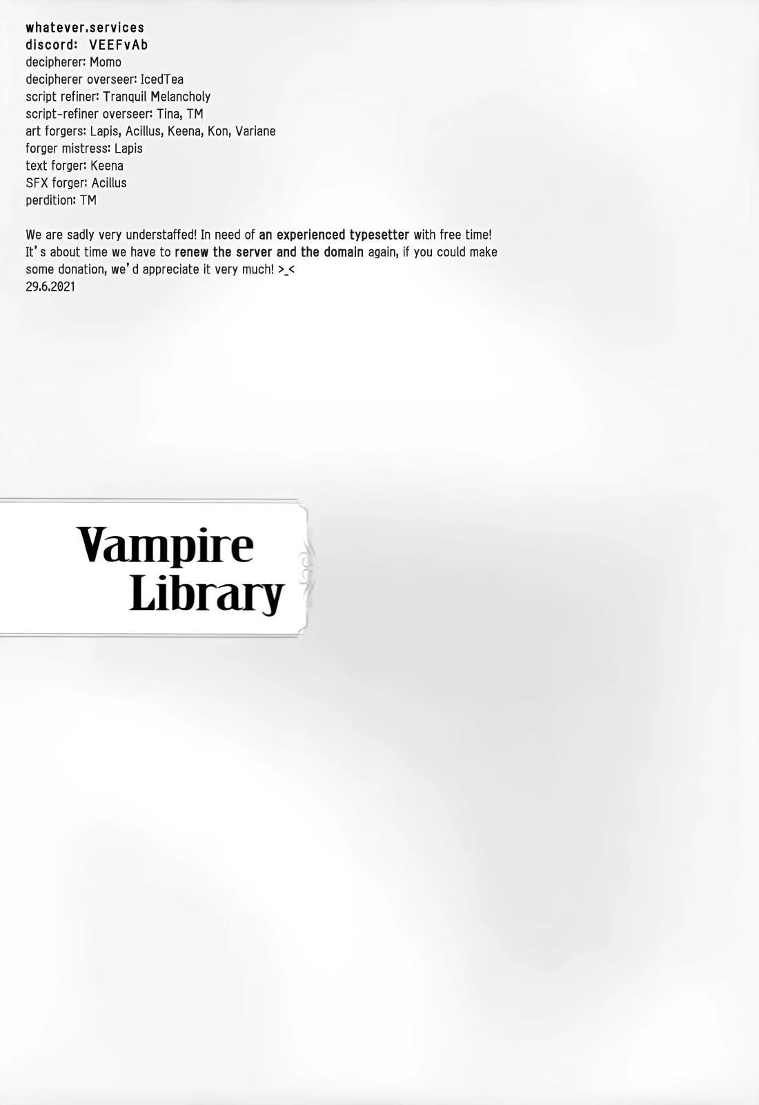 Vampire Library Chapter 37 page 1 - Mangakakalots.com