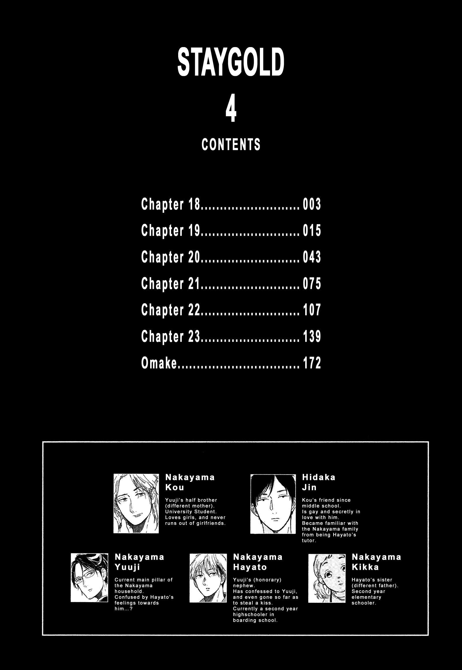 Stay Gold (Hideyoshico) Vol.4 Chapter 18 page 2 - Mangakakalots.com
