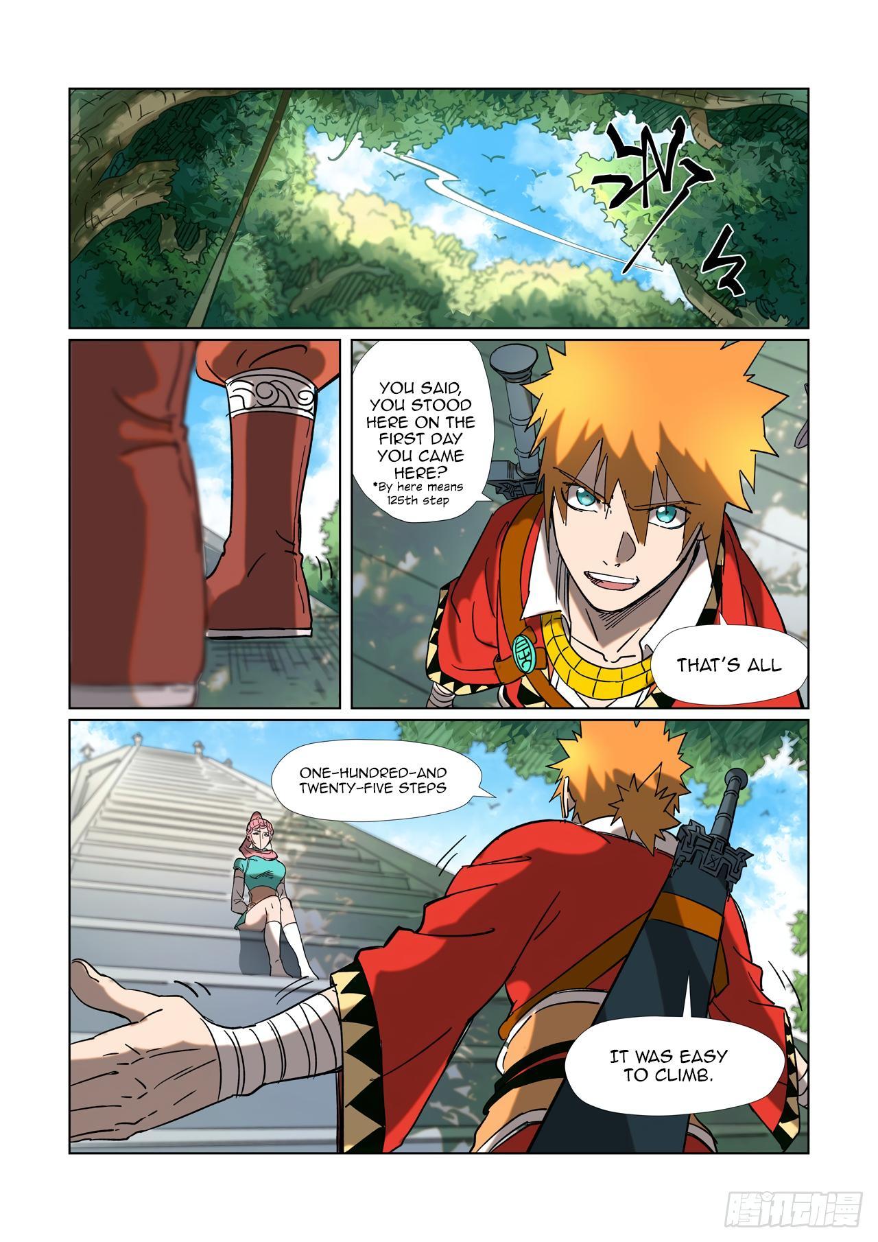 Tales Of Demons And Gods Chapter 315.1 page 5 - Mangakakalots.com