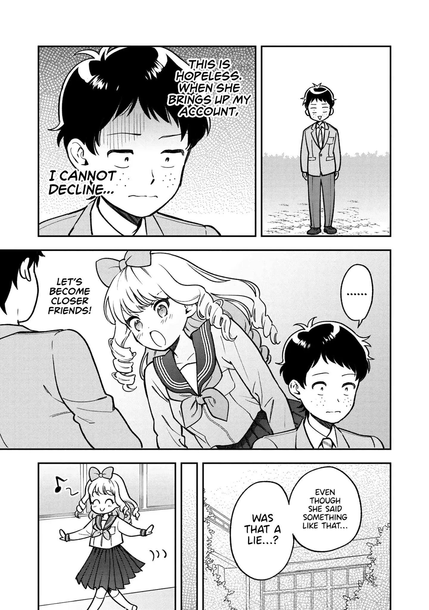 Houjou Urara No Renai Shousetsu O Kaki Nasai! Chapter 6 page 10 - Mangakakalots.com