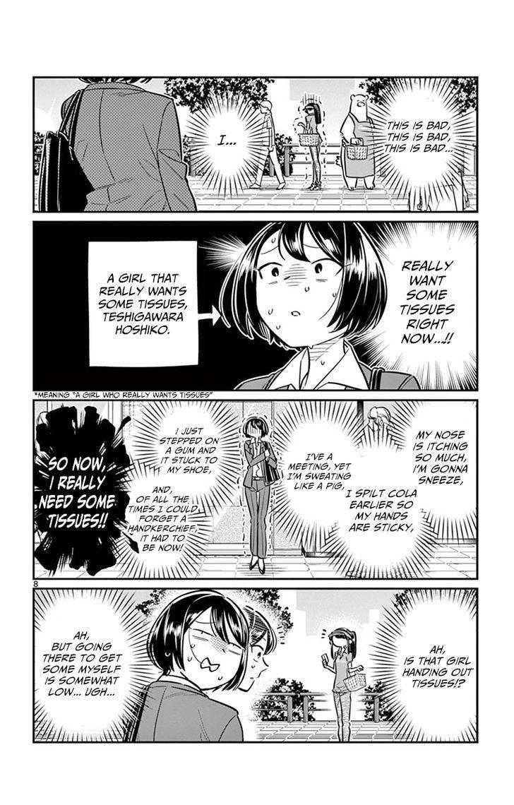 Komi-San Wa Komyushou Desu Vol.3 Chapter 43: Part Time Job page 8 - Mangakakalot