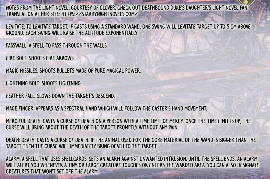 Deathbound Duke's Daughter And Seven Noblemen Chapter 5 page 27 - Mangakakalots.com