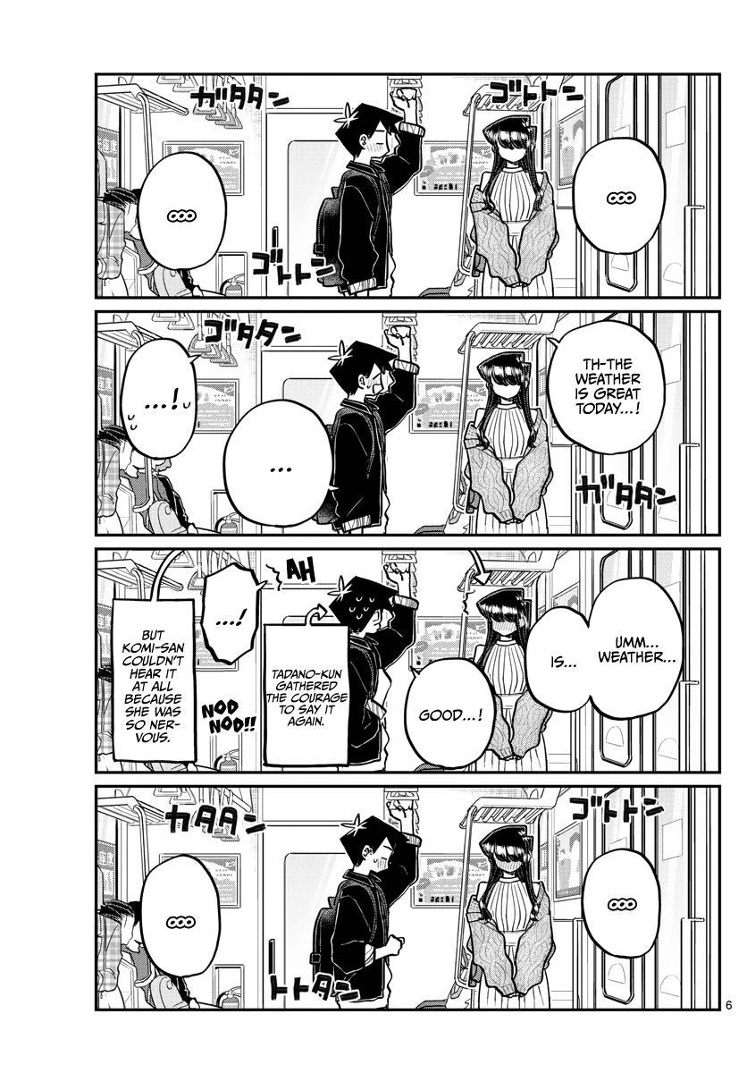 Komi-San Wa Komyushou Desu Chapter 319: The Actual Date page 6 - Mangakakalots.com