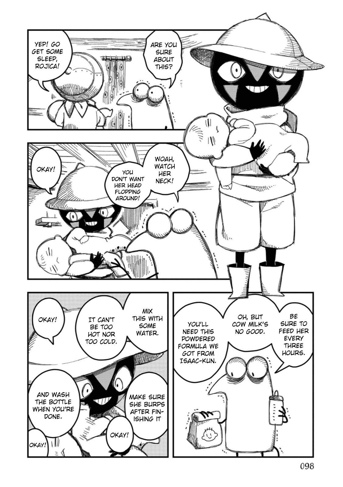 Rojica To Rakkasei Chapter 14: Shii-San's Long Day page 6 - Mangakakalots.com