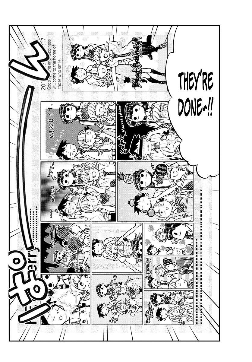 Komi-San Wa Komyushou Desu Vol.4 Chapter 57: Photo Stickers page 12 - Mangakakalot