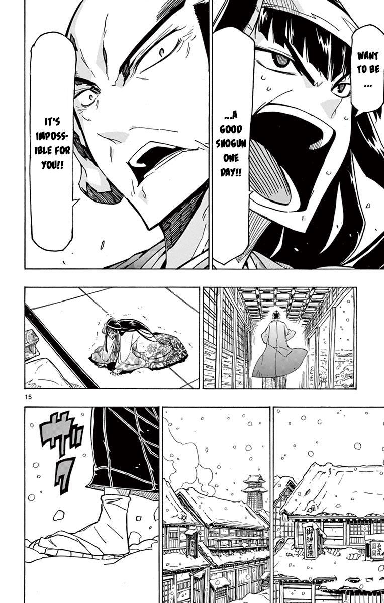 Joujuu Senjin!! Mushibugyo Vol.25 Chapter 241: Setoff (First Part) page 15 - Mangakakalots.com