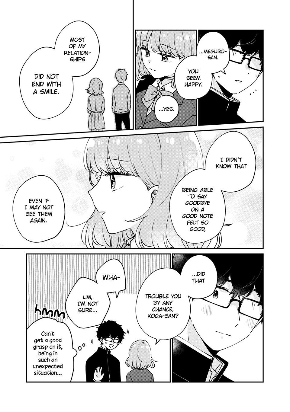 It's Not Meguro-San's First Time Chapter 47: Of Course page 6 - Mangakakalots.com