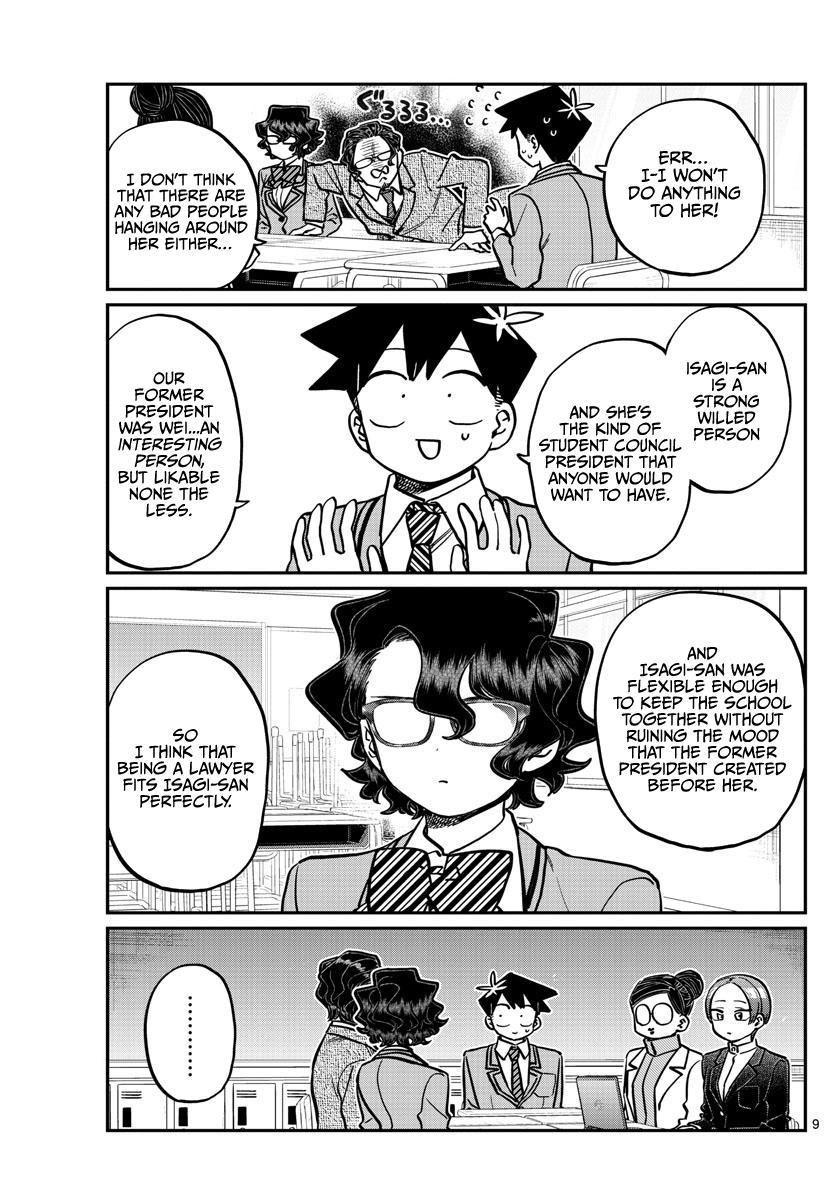Komi-San Wa Komyushou Desu Chapter 256: Career Counseling page 9 - Mangakakalot