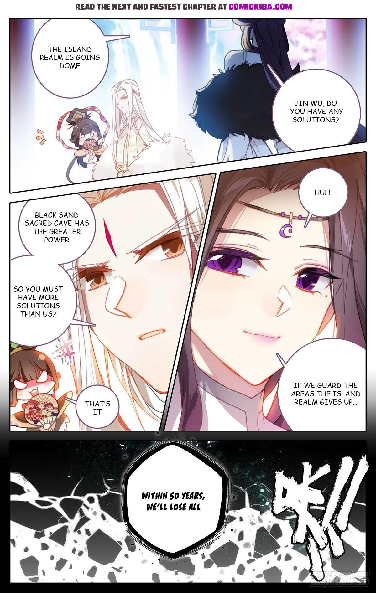 Azure Legacy Chapter 100 page 8 - Mangakakalots.com