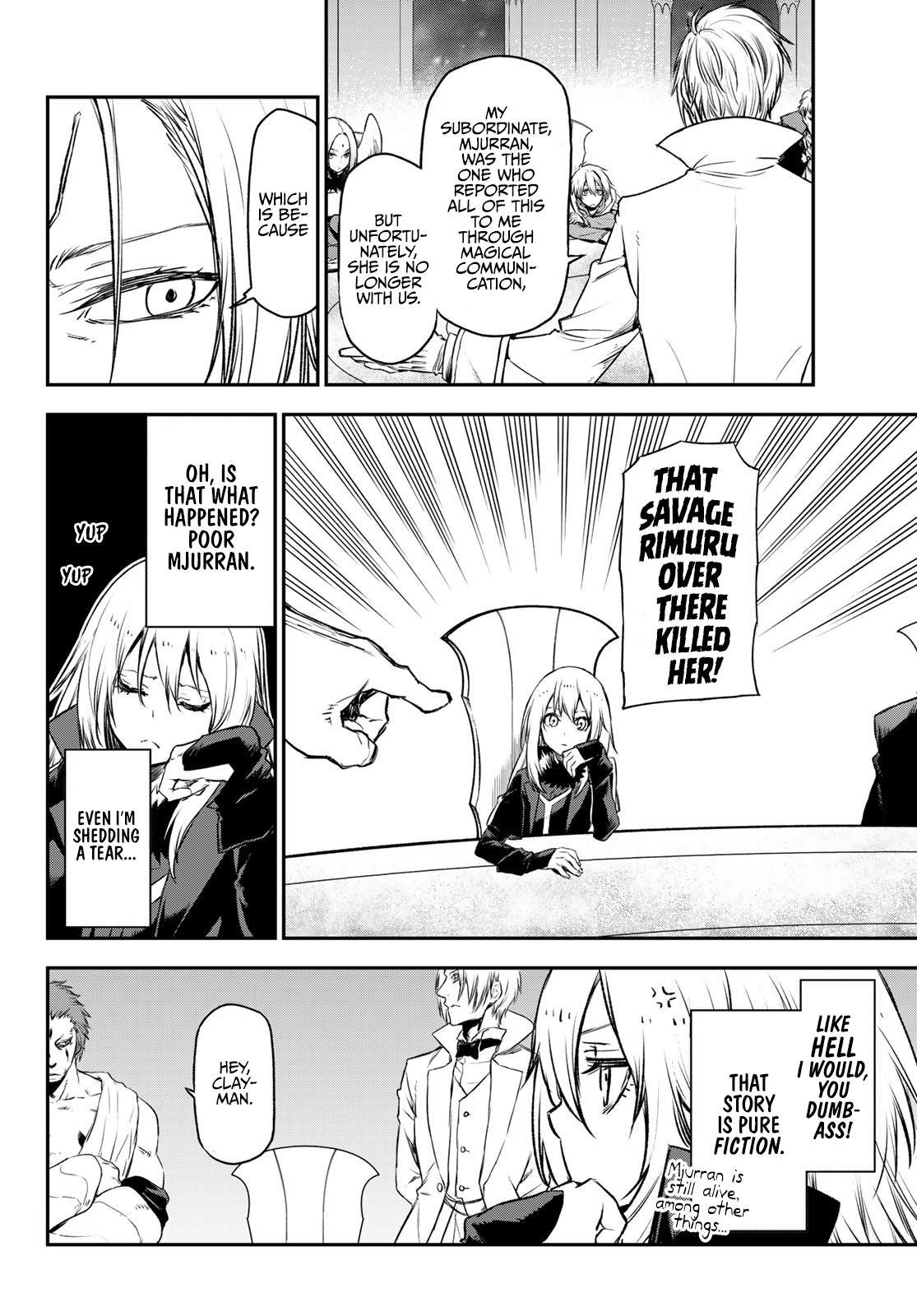 Tensei Shitara Slime Datta Ken Chapter 81: The Wight King page 16 - Mangakakalots.com