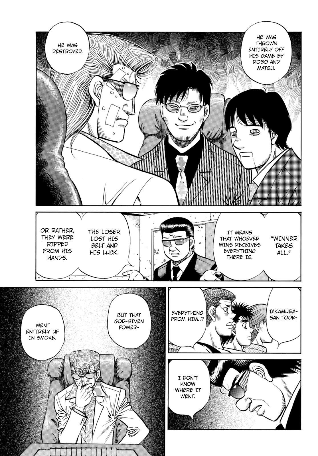 Hajime No Ippo Chapter 1350: Keith's Back page 14 - Mangakakalots.com