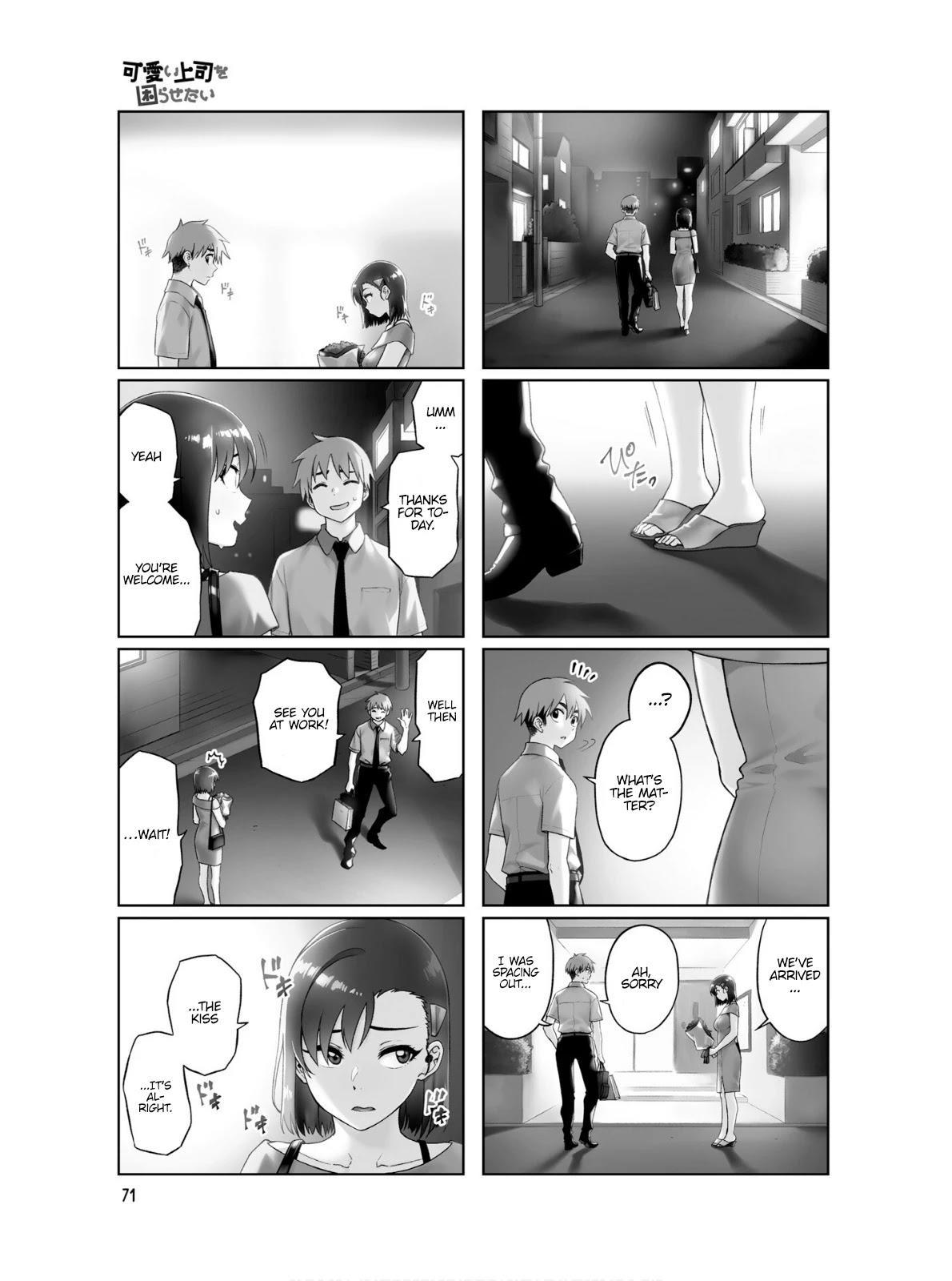 Kawaii Joushi O Komarasetai Chapter 63 page 10 - Mangakakalots.com