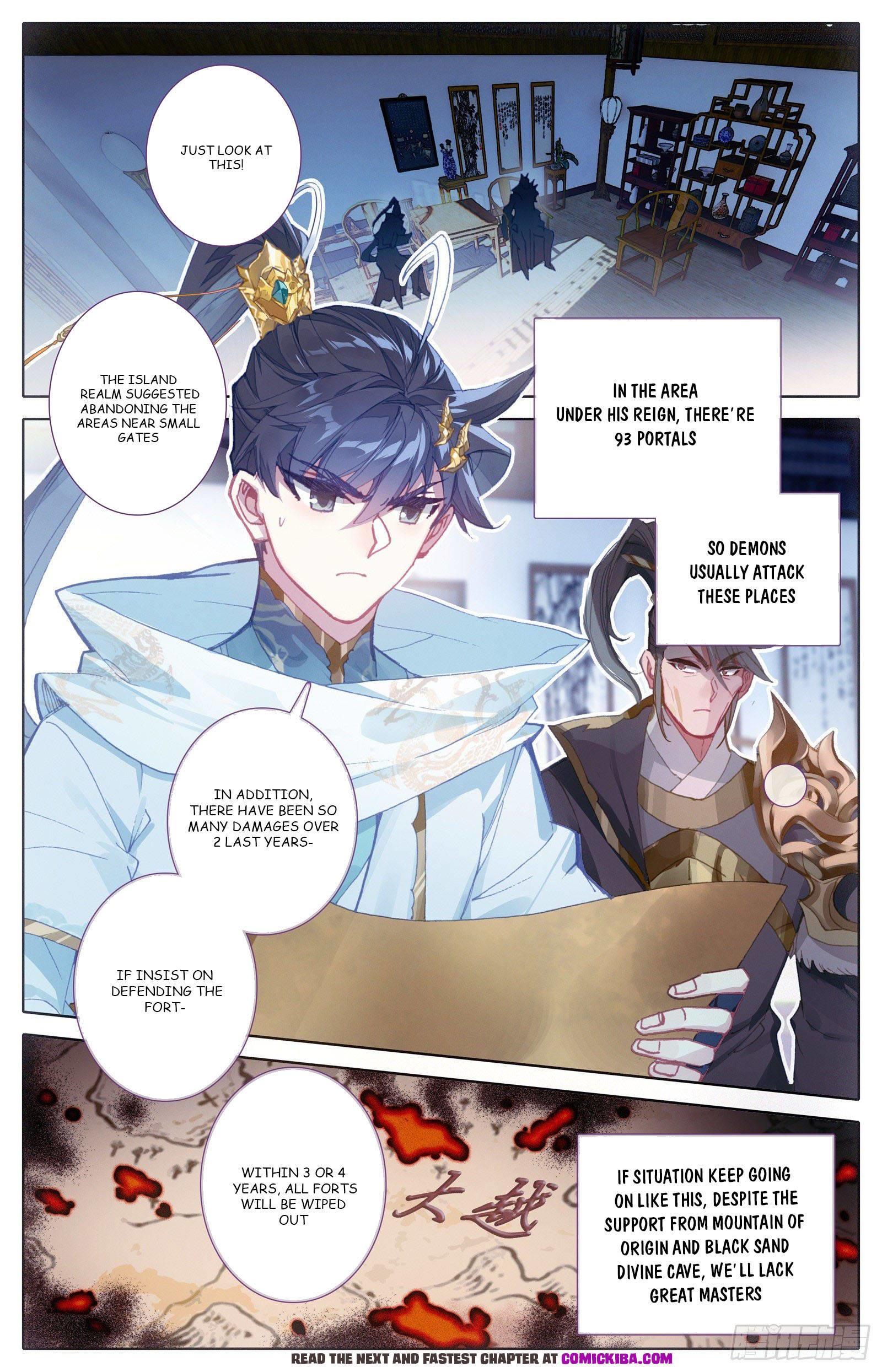 Azure Legacy Chapter 101 page 3 - Mangakakalots.com