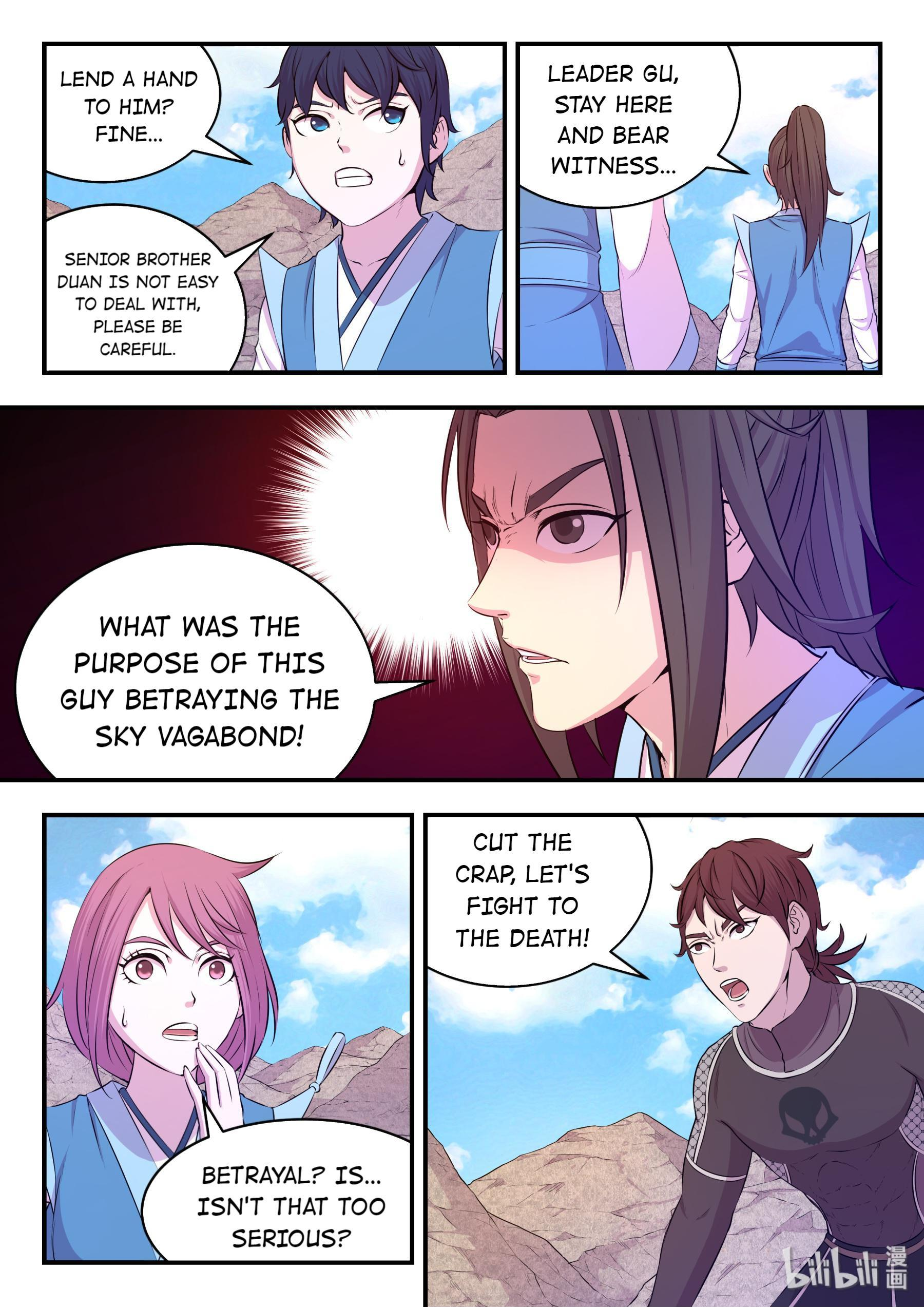 The All-Devouring Whale Chapter 33: Transfigure Qhale Into Roc page 19 - Mangakakalots.com