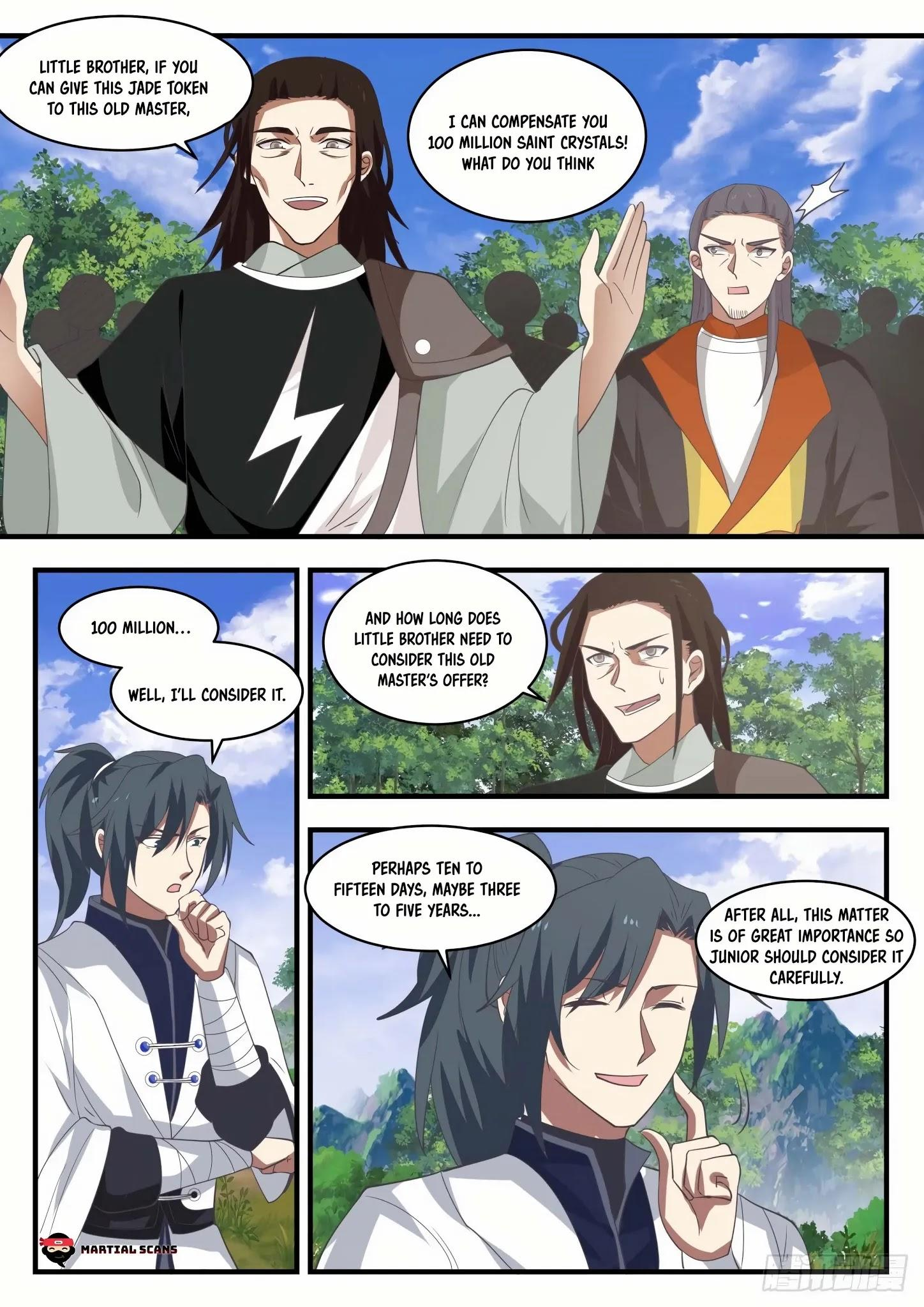 Martial Peak Chapter 1295: Series Of Twists And Turns page 3 - Mangakakalots.com